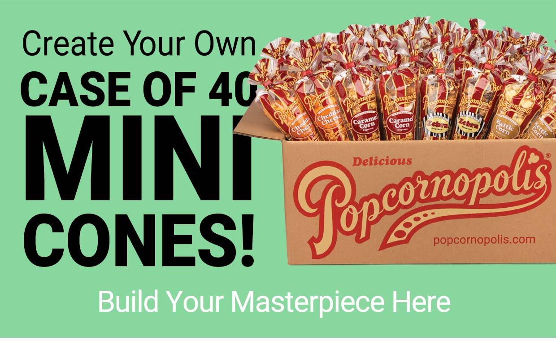 Create Your Own Case of 40 Mini Cones!