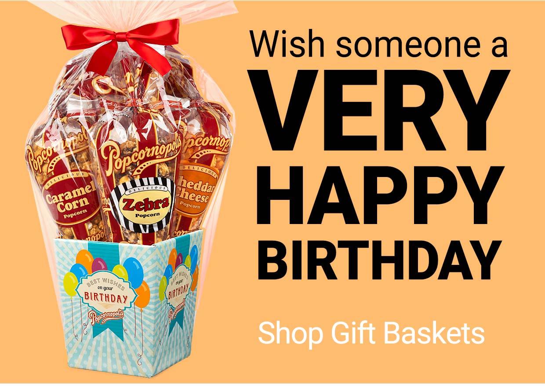 Shop Popcorn Gift Baskets